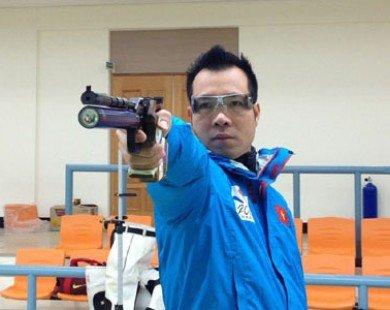 Các xạ thủ duy trì thành tích quốc tế dù phải tập với súng không đạn
