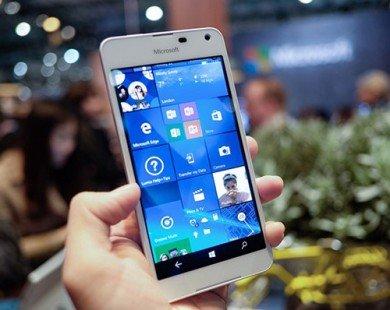 Lumia 650 vỏ kim loại, dáng mỏng có giá 3,9 triệu đồng
