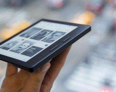 Amazon Kindle Oasis ra mắt với thiết kế mỏng, giá cao