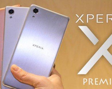 Sắp có Sony Xperia X Premium dùng màn hình HDR