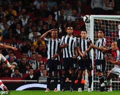 Cách sút phạt trực tiếp trong bóng đá