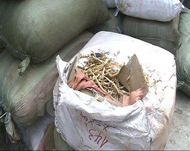 Hà Nội: Thu giữ 6 tấn dược liệu thuốc Bắc không có giấy tờ hợp lệ