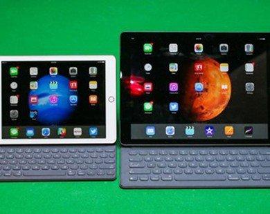 iPad Pro 9,7 inch tốt hơn bản 12,9 inch