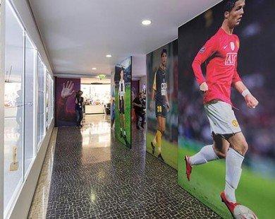 Bên trong bảo tàng cá nhân của Cristiano Ronaldo