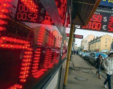 Kinh tế Nga bị thiệt hại nặng nề do các biện pháp trừng phạt