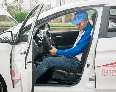Honda Ô tô Tây Hồ tổ chức chương trình Lái xe an toàn tháng 05/2016