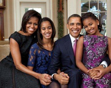 Học cách dạy con của vợ chồng Obama khiến cả thế giới khâm phục