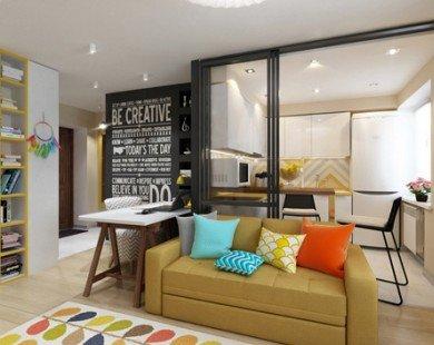 Căn hộ đẹp, đầy đủ tiện ích dù diện tích dưới 30 m2