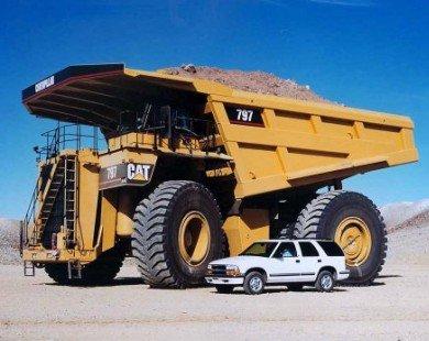 """Top 10 xe tải """"khủng"""" nhất hành tinh"""