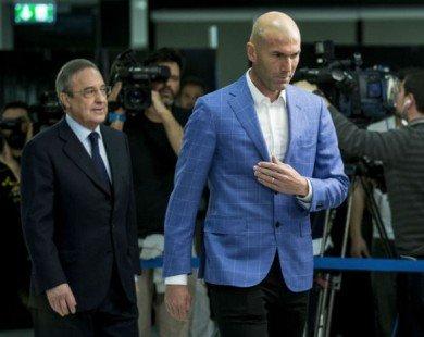 Vì 2 quý tử, HLV Zidane bật Chủ tịch Perez vụ Odegaard?