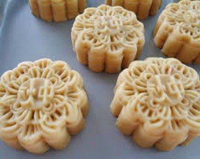Cách làm bánh Trung thu nướng nhân dừa vụn