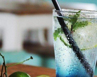 Cách làm soda Ý Biển xanh cho ngày mát lạnh