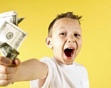 Dạy trẻ cách hành xử khôn ngoan với tiền bạc