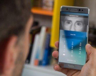 Samsung đưa công nghệ quét mống mắt vào ngành ngân hàng