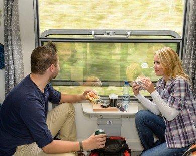 10 lý do du lịch bằng tàu hỏa tiện ích và thú vị hơn đi máy bay