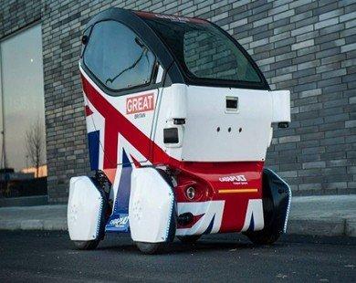 Xe không người lái lần đầu tiên thử nghiệm trên đường phố Anh