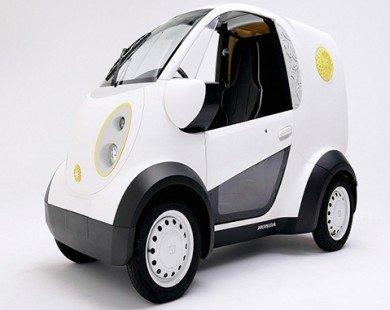 Honda tiết lộ mẫu Micro Commuter EV mới