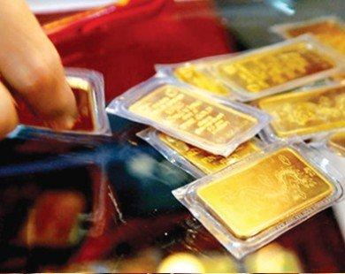 Giá vàng hôm nay lại tiếp tục giảm