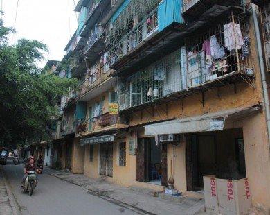 Cải tạo chung cư cũ: Kiến nghị cho tái định cư tại chỗ