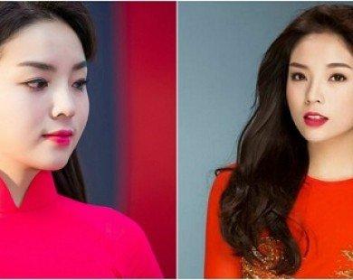 Nhan sắc Hoa hậu Kỳ Duyên: Môi căng mọng, cằm ngày càng nhọn