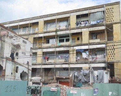 Tp.HCM: Hàng loạt DN địa ốc muốn cải tạo chung cư cũ ở quận 1