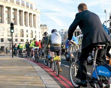 Anh: Đi xe đạp được giảm thuế
