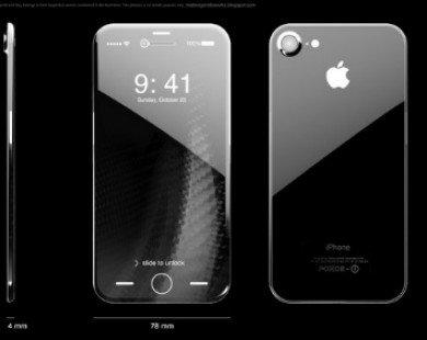 iPhone 8 và Samsung Galaxy S8 đều sẽ có màn hình cong