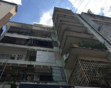 Tp.HCM: Đề xuất di dời khẩn cấp chung cư ở phố Tây