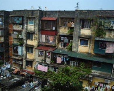 Hà Nội: Chung cư cũ chỉ đền bù tối đa 1-1