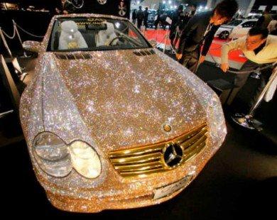 Lóa mắt Mercedes-Benz SL 600 kim cương giá 109 tỷ đồng