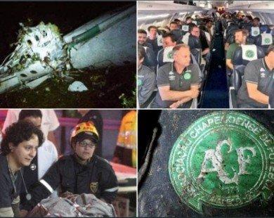 CLB Brazil gặp tai nạn máy bay: Có 2 tuyển thủ Brazil