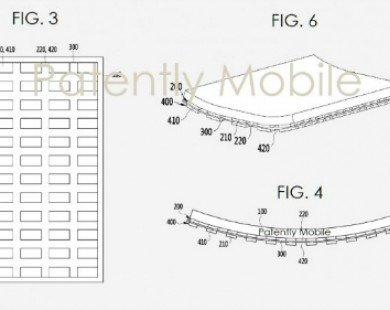 Samsung đã được cấp bằng sáng chế màn hình uốn cong mới