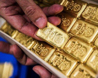 Đầu tuần, giá vàng giảm