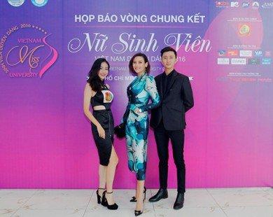 """Siêu mẫu Võ Hoàng Yến chỉ đạo catwalk vòng chung kết """"Nữ sinh viên Việt Nam duyên dáng 2016"""""""