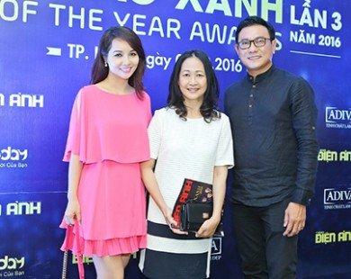 Dương Cẩm Lynh xuất hiện quyến rũ trong họp báo Ngôi Sao Xanh 2016