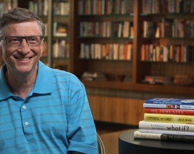 5 cuốn sách được tỷ phú Bill Gates yêu thích nhất năm 2016