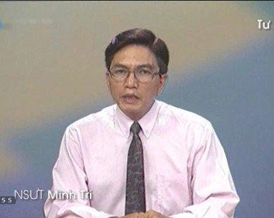 Giọng đọc huyền thoại Minh Trí sau 10 năm nghỉ hưu sa sút sức khỏe