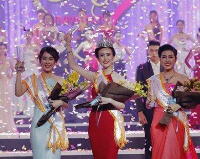 Đặng Thị Thu Hồng đăng quang hoa khôi