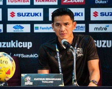 Thua ngược trước Indonesia, HLV Kiatisuk đổ lỗi cho hàng thủ