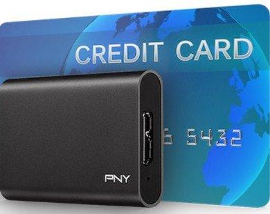 PNY trình làng ổ SSD gắn ngoài nhỏ hơn chiếc thẻ ATM