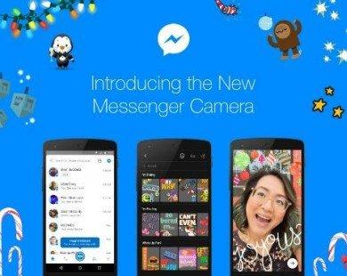 Facebook Messenger cập nhật hiệu ứng chụp ảnh mới
