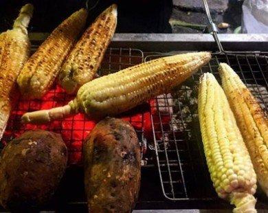 Những món nướng cho chiều đông lang thang Hà Nội