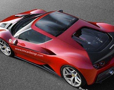 Siêu xe Ferrari J50 Coupe sẽ có hình dạng như thế nào?