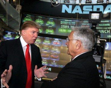 Cổ phiếu Mỹ lên đỉnh vì Trump, lao dốc cũng lại vì Trump