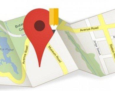 Google Maps cho phép tìm nhà vệ sinh công cộng