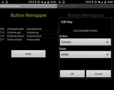Ứng dụng giúp thay đổi chức năng phím cứng trên smartphone