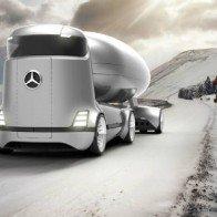 Mercedes-Benz E-Truck thiết kế như vật ngoài hành tinh
