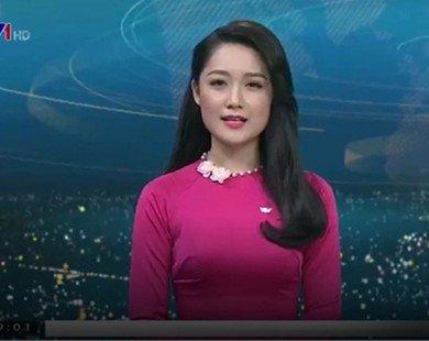 BTV xinh đẹp trẻ nhất bản tin Thời sự VTV1 trở lại sóng sau 6 năm