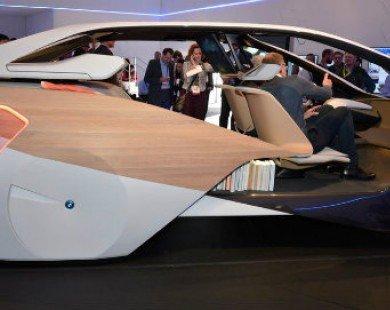 Lạ lẫm mẫu xe siêu tưởng BMW i Inside Future