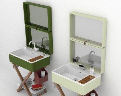 Bồn rửa hình vali: giải pháp tiện ích cho phòng tắm nhỏ